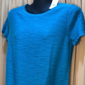 LOFT sweater short sleeved NWT XS Teal